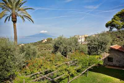 Book now your holiday in Sorrento in Campania in this beautiful private villa on the sea in Sorrento in the province of Naples in Campania