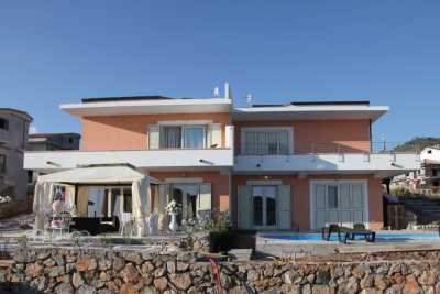 Seafront vacation villa rental with amazing view of Mediterranean sea at Praia a Mare. This holiday seafront villa has 6 bedrooms and 9 bathrooms