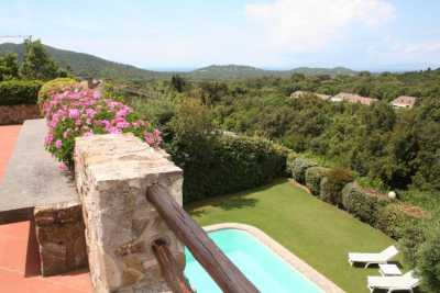 Seafront vacation villa rental with amazing view of Mediterranean sea at Punta Ala Castiglione della Pescaia. Holiday seafront villa with 7 bedrooms