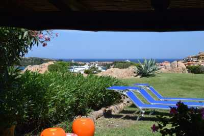 Exclusive vacation seafront apartment with pool in Porto Cervo, Costa Smeralda Sardinia with 4 bedrooms, 3 bathrooms up to 8 sleeps